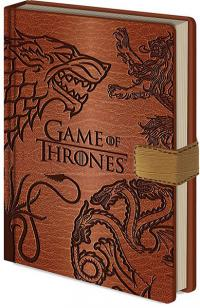 Game of Thrones Premium Notebook A5 Sigils
