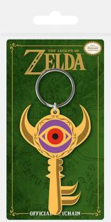Legend of Zelda Rubber Keychain Boss Key 6 cm