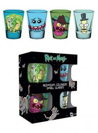 Premium Shotglass 4-Pack Mix