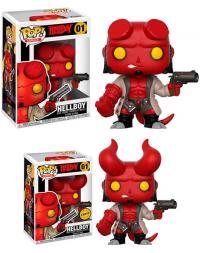 Hellboy with Jacket Pop! Vinyl Figure