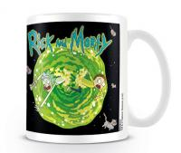 Rick and Morty Floating Cat Dimension Mug