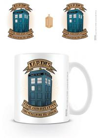 Doctor Who Tardis Tattoo Mug