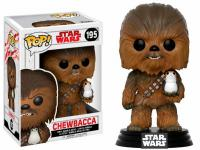 Star Wars The Last Jedi Chewbacca & Porg Pop! Vinyl Figure