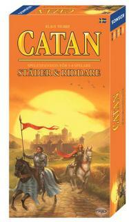 Catan - Städer & Riddare 5-6 (Skandinavisk utgåva)