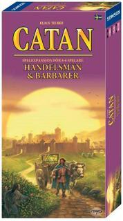 Catan - Handelsmän & Barbarer 5-6 (Skandinavisk utgåva)