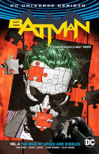 Batman Rebirth Vol 4: The War of Jokes and Riddles
