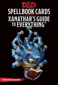 Spellbook Cards: Xanathar`s Guide Deck