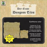 Earthtone Combo Pack of Five 10x10 & Sixteen 5x5 Inch Square Tiles