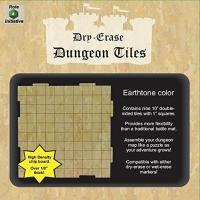 Earthtone Pack of Nine 10x10 1 Inch Square Interlocking Tiles