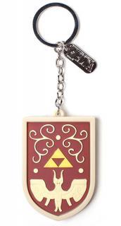 The Legend of Zelda Rubber Keychain Hero's Shield