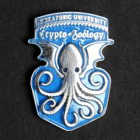 Varsity pin: Crypto-Zoology