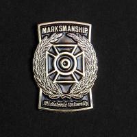 Varsity pin: Marksmanship