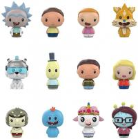 Rick and Morty Pint Size Heroes Mini Figures 6 cm Display