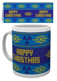 Fallout 4 Christmas Mug Ugly Sweater
