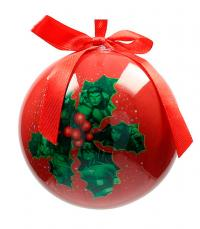Marvel Christmas Bauble Mistletoe Characters