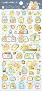 Sumikkogurashi Stickers: Studying Sumikko