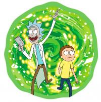 Rick and Morty Mousepad Portal in Shape