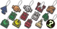 Monster Hunter World Item Icon Rubber Mascot Collection