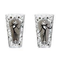 Pint Glass 2-Pack Jack and Bones