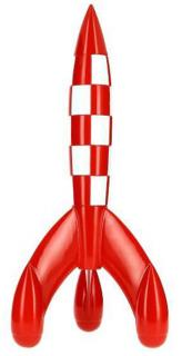 Samlarfigur - Raket 60cm