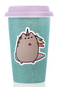 Pusheen Ceramic Travel Mug Unicorn