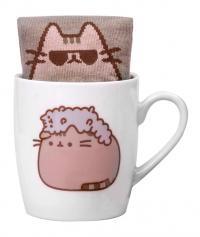 Pusheen Sock in a Mug Pusheen and Stormy