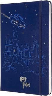Moleskine Limited Edition Notebook Flying Car Blue