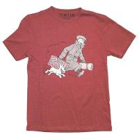 T-Shirt - Röd Ils Arrivent X-Large