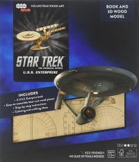 IncrediBuilds: Star Trek: U.S.S. Enterprise book and model
