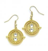 Harry Potter Earrings Time-Turner (gold plated)