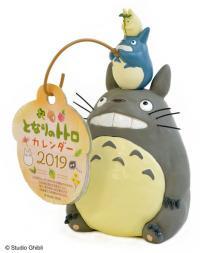 Totoro Desk Calendar 2019 Japansk