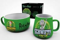 Breakfast Set Get Schwifty