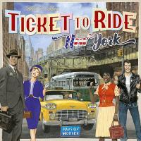 Ticket to Ride - New York (Skandinavisk utgåva)