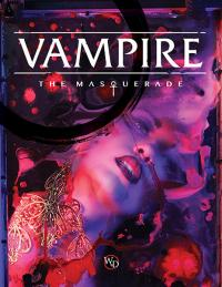 Vampire The Masquerade: 5th Edition Core Rulebook Hardcover