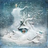 Vykort - Felicia's Island (winter)