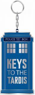 Keys To The Tardis Keychain