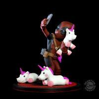 Deadpool #Unicornselfie Q-Fig Diorama Figure