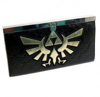 Clutch Wallet Zelda Golden Logo