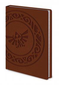 Legend of Zelda Pocket Premium Notebook A6 Triforce