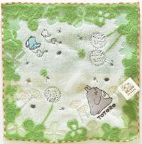 My Neighbor Totoro Mini Towel Young Leaves 25 x 25 cm