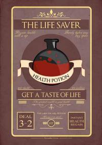 The Life Saver Poster