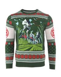 Stormtrooper Chase Christmas Jumper