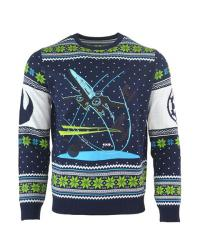 X-Wing Chase Christmas Jumper