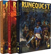 RuneQuest - Roleplaying in Glorantha Deluxe Slipcase Set