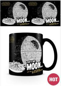 Heat Changing Mug That's No Moon