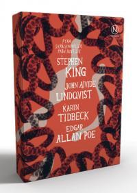 Presentask med fyra skräcknoveller: Ajvide, King, Poe, Tidbeck