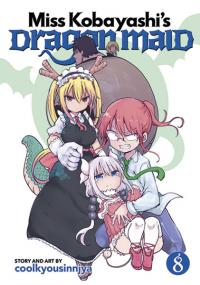 Miss Kobayashi's Dragon Maid Vol 8