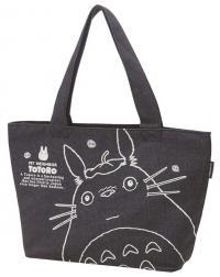 Totoro tote bag denim