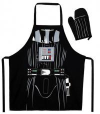 Darth Vader Apron and Oven Mitt Set