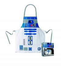 R2-D2 Apron and Oven Mitt Set